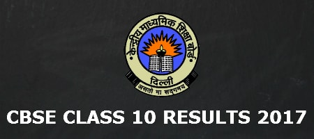 CBSE 10th Results 2017